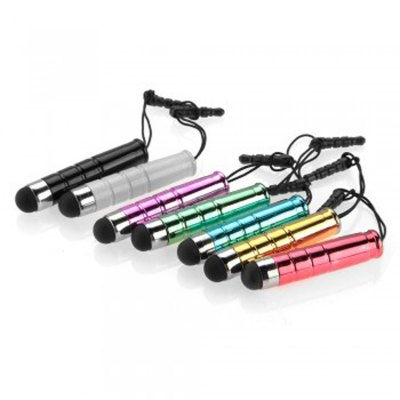 Гаджет   7pcs Color Fashion Bullet Style Stylus Touch Ccreen Pen iPhone Charms