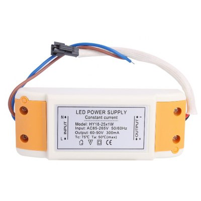 HY 18 - 25 x 1W LED Driver Power Source Converter for Ceiling Light