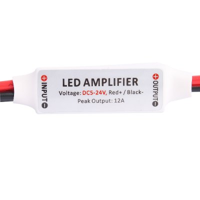 Гаджет   One Color LED Mini Amplifier for 5630 3528 5050 SMD Strip Lamp LED Accessories