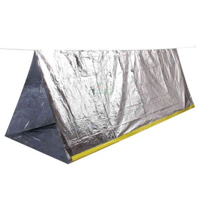 Гаджет   Moge Outdoor Camping Hiking Emergency Tent Survival Tool - 240 x 160cm Emergency Shelter and First Aid