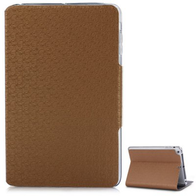 Maze Pattern Stand PU Leather Cover Case with Card Holder for iPad mini / 2 / 3