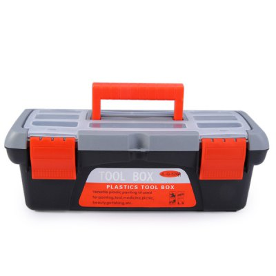 WLXY 10 Inch Plastic Multifunctional Tool Box With Tray Storage Orgnizer Hardware Kit for Fishing Pacnic PaintingStorage Supplies<br>WLXY 10 Inch Plastic Multifunctional Tool Box With Tray Storage Orgnizer Hardware Kit for Fishing Pacnic Painting<br><br>Brand: WLXY<br>Material: Plastic<br>Color: Multi-color<br>Type: Other hardware tools<br>Special Features: Multifunctional WLXY 10 inch tool box storage case with removable tray<br>Function: Suitable for fly fishing, boat fishing, lure fishing, freshwater fishing<br>Product weight : 0.309 kg<br>Package weight : 0.350 kg<br>Product size (L x W x H) : 27.5 x 14.0 x 9.5 cm / 10.81 x 5.50 x 3.73 inches<br>Package size (L x W x H) : 28.5 x 15.0 x 10.5 cm / 11.20 x 5.90 x 4.13 inches<br>Package Contents: 1 x Tool Box