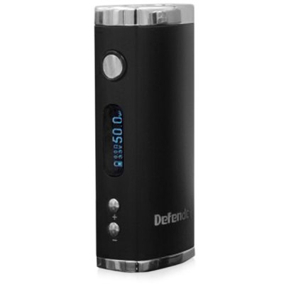 Original Heatvape Defender 50W VV / VW Variable Wattage E - cig Box Mod with Digital Display OLED Screen - 510 Thread
