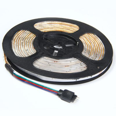 5M 18W RGB SMD 3014 LEDs Ribbon Light Flexible Water-resistant Rope Light