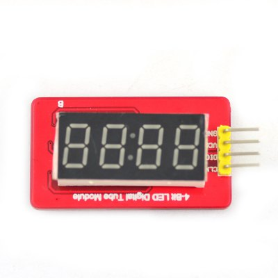Jtron DIY Parts 2-Line 4 Digit LED Display Digital Tube Module for Arduino