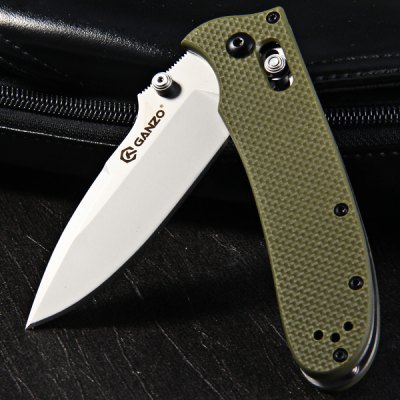 ФОТО Ganzo G704 - G Pocket Axis Locking Foldable Camping Hunting Knife 440C Stainless Steel Blade