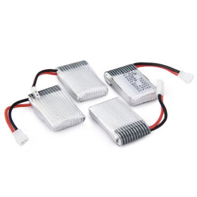 Фотография X4 - 002 RC Helicopter Parts Set 240mAh Battery + USB Cable + Charger
