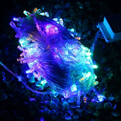 10 Meters 100 Colorful LED Water-resistant String Lights Decorative Outdoor Fairy LampsLED Strips<br>10 Meters 100 Colorful LED Water-resistant String Lights Decorative Outdoor Fairy Lamps<br><br>Type: LED String<br>Connector Type: EU Plug<br>Light Color: Colorful, Blue, Warm White, Yellow, Green, Purple, White<br>Voltage (V): AC220<br>Features: Low Power Consumption, IP-44<br>Length (m): 10m<br>Number of LEDs: 100 LEDs<br>Product weight: 0.141 kg<br>Package weight: 0.18 kg<br>Product size (L x W x H): 13 x 8 x 5 cm / 5.11 x 3.14 x 1.97 inches<br>Package size (L x W x H): 14 x 9 x 6 cm / 5.50 x 3.54 x 2.36 inches<br>Package Contents: 1 x 10m LED String Light