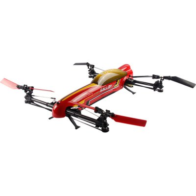 ФОТО WLtoys V383 500 Electric 3D Inverted Flight 6 Axis Gyro 2.4GHz 6CH RC Quadcopter Stunt UFO