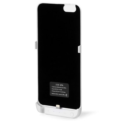 5000mAh Power Bank Back Cover Case Backup Charger with Stand DesignPower Banks<br>5000mAh Power Bank Back Cover Case Backup Charger with Stand Design<br><br>Type: Battery Case<br>Compatibility : iPhone 6 Plus<br>Material   : ABS, PC<br>Cell type : Li-Polymer Battery<br>Capacity (mAh): 5000mAh<br>Special Functions: Super Slim, Battery Cases For iPhone, Includes Stand<br>Input  : DC 5V 0.8A<br>Output   : DC 5V 1A<br>Available Color  : White, Gold, Black<br>Product weight: 0.117 kg<br>Package weight: 0.290 kg<br>Product size (L x W x H): 16.8 x 8 x 1.2 cm / 6.60 x 3.14 x 0.47 inches<br>Package size (L x W x H): 19 x 12 x 3 cm / 7.47 x 4.72 x 1.18 inches<br>Package Contents: 1 x Power Bank Battery Case, 1 x English and Chinese User Manual