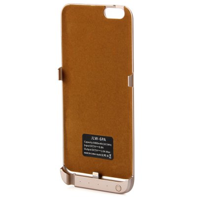 Гаджет   5000mAh Power Bank Back Cover Case Backup Charger with Stand Design iPhone Power Bank