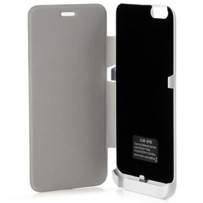 Гаджет   5000mAh Power Bank Cover Case Backup Charger with Stand Design iPhone Power Bank