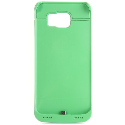 Гаджет   4200mAh Power Back Cover Bank Case Backup Charger Holder with Stand for Samsung Galaxy S6 G9200 Samsung Chargers