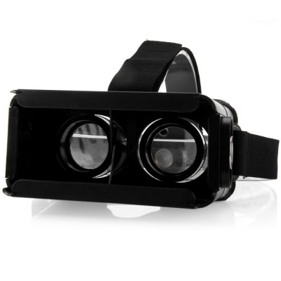 ColorCross II Updated Version 3D Virtual Reality VR Glasses Headset Smart Phone 3D Private Theater with Magnetic Sensor for 3.5 - 6 inches Smartphone