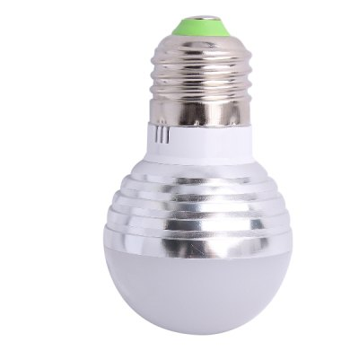 E27 RGB Colorful Remote Control Light Bulb
