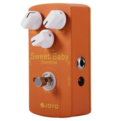 JOYO JF - 36 True Bypass Design Sweet Baby Low Gain Overdrive Electric Guitar Effect Pedal with Focus Knob