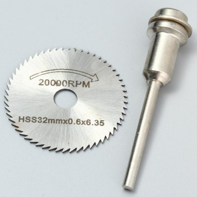WLXY 32MM High Speed Steel Saw Blade Cutter + Connecting Rod Set