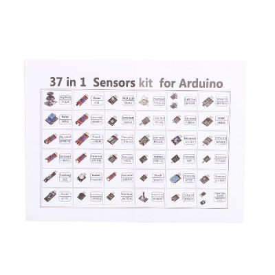 New Excellent 37-in-1 Sensors Module Kit for Arduino Learner As Vibration Switch Work with Official Arduino Board
