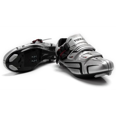 Tiebao Professional Breathable Road Cycling Sports Shoes for Men / Women - 1 Pair