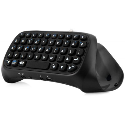 3.5mm Jack Wireless Bluetooth Keyboard for PS4 Controller