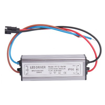 HY 12 - 18 x 1W LED Driver Power Source Converter