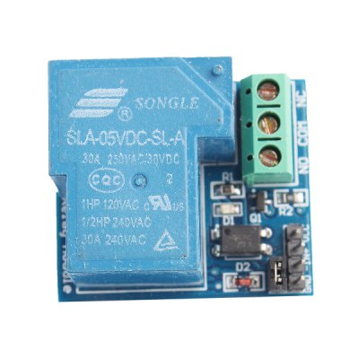 5V 30A Optoelectronic Coupling Sandbox Isolated Type Relay Sensor Module