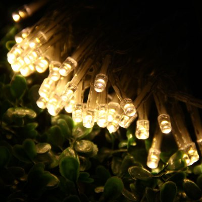 10 Meters 80 LEDs Warm White Light Battery Powered Fairy String Light for Festival Party ( 3 x AA Battery )