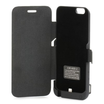 Гаджет   7000mAh Power Bank Cover Case Backup Charger with Stand USB Port iPhone Power Bank
