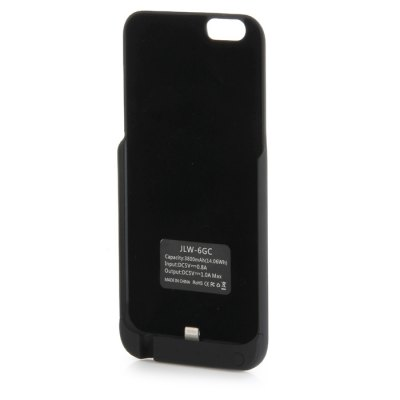 Гаджет   3800mAh Power Bank Back Cover Case Backup Charger with Stand Design iPhone Power Bank