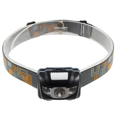 KY - B SMD 3328 + 5310 3 LEDs 280LM Red + White Light AAA Cycling LED Headlight