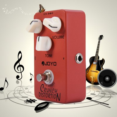 JOYO JF - 03 True Bypass Design Crunch Distortion Electric Guitar Effect Pedal with Marshall Gain