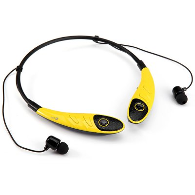 Гаджет   HBS - 860 Sports Bluetooth 4.0 Handsfree Stereo Headset Neckband Earphone Volume Control Song Switch with Mic for Smartphones Tablet PC Headsets