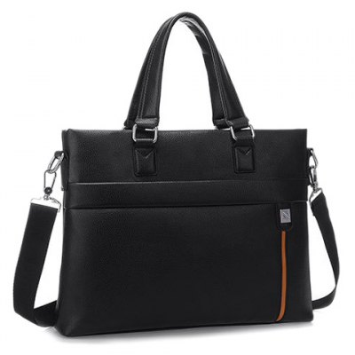 Trendy PU Leather and Color Block Design Mens BriefcaseMens Bags<br>Trendy PU Leather and Color Block Design Mens Briefcase<br><br>Gender: For Men<br>Style: Fashion<br>Closure Type: Zipper<br>Pattern Type: Others<br>Height: 28CM<br>Length: 36CM<br>Width: 6CM<br>Main Material: PU<br>Weight: 1.20KG<br>Package Contents: 1 x Briefcase