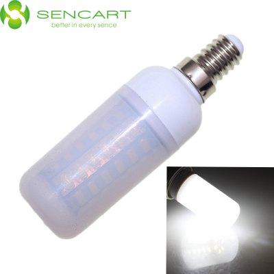 Sencart E14 12W 6000K SMD - 5730 LED Light Bulb ( Frosted )