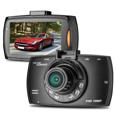 Only $39,71 –  2.7 inch LCD 1080P Full HD DVR 170 Degree Wide Angle Lens 5.0MP