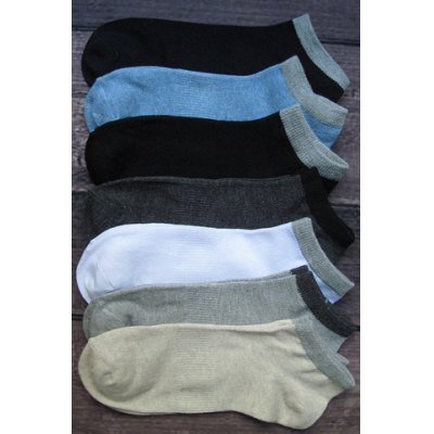 5 Pairs of Stylish Simple Design Socks For Men