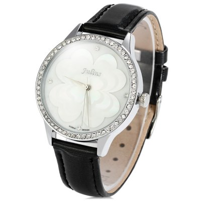 Julius JA-803 Glossy Genuine Leather Band Women Flower Face Quartz WatchWomens Watches<br>Julius JA-803 Glossy Genuine Leather Band Women Flower Face Quartz Watch<br><br>Brand: Julius<br>Watches categories: Female table<br>Available color: Pink, Red, Brown, Black<br>Style : Fashion&amp;Casual<br>Movement type: Quartz watch<br>Shape of the dial: Round<br>Display type: Analog<br>Case material: Stainless steel<br>Band material: Genuine leather<br>Clasp type: Pin buckle<br>The dial thickness: 0.8 cm / 0.31 inches<br>The dial diameter: 3.6 cm / 1.38 inches<br>The band width: 1.4 cm / 0.55 inches<br>Product weight: 0.032 kg<br>Package weight: 0.082 kg<br>Product size (L x W x H) : 23.1 x 3.6 x 0.8 cm / 9.08 x 1.41 x 0.31 inches<br>Package size (L x W x H): 24.1 x 4.6 x 1.8 cm / 9.47 x 1.81 x 0.71 inches<br>Package contents: 1 x Julius JA-803 Watch