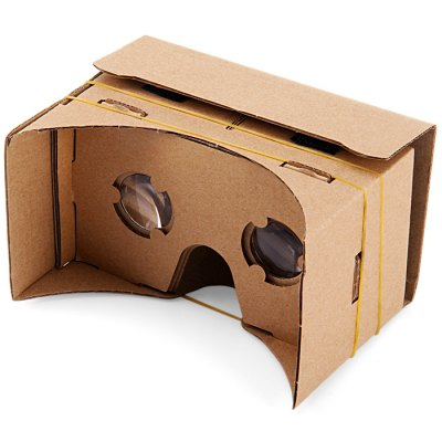 iBlue DIY Cardboard 3D VR Glasses Smart Phone 3D Private Theater with Magnetic Sensor for 3.5 - 5.5 inches Smartphone