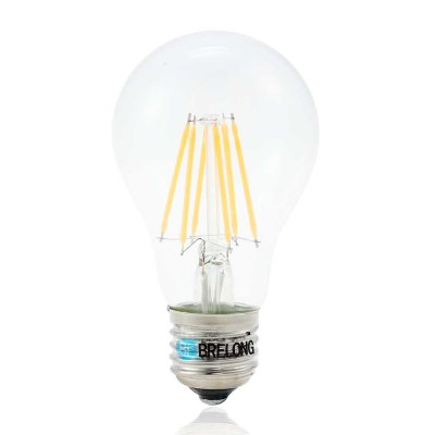 BRELONG E27 6W 3000 - 3500K 600LM 6 x COB LED Tungsten Light Globe Bulb ( AC 220V )