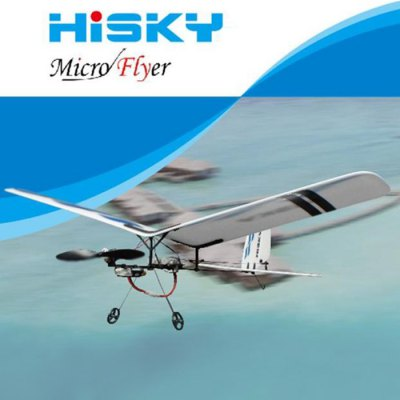 Hisky HFW400 2.4G 3CH Micro Flyer Parkflyers RC Airplane BNF