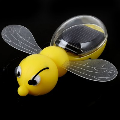 Energy-saving Bee with Solar Panel Solar Power Model Toy