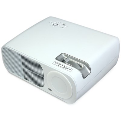 Гаджет   UhAPPy U-20 LCD Projector 2600LM 800 x 480 Pixels with IR Remote Control / Keystone Correction Support 1080P Projector