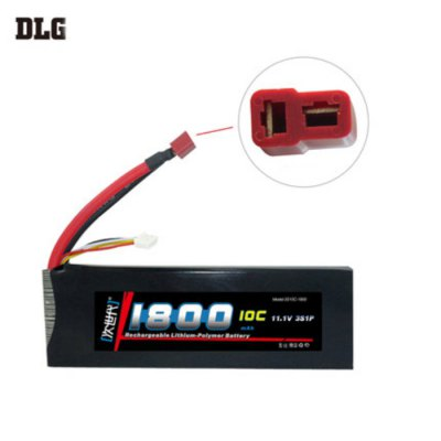 Гаджет   DLG 3S 10C 1800mAh 11.1V 15C Instantaneous Rate Battery for Remote Control Car Aircraft etc. Supplies Multi Rotor Parts