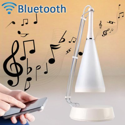 Touch Sensor Desk Lamp with Bluetooth Speaker