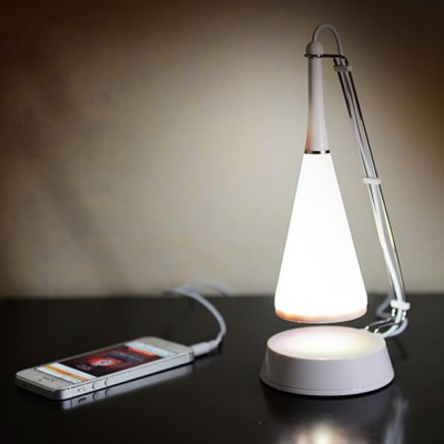 Creative USB Touch Sensor Desk Lamp Night Light with Speaker Music Player
