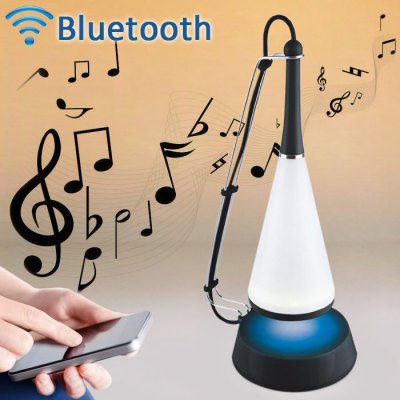 Creative Wireless USB Touch Sensor Desk Lamp Night Light with Bluetooth Speaker Music Player
