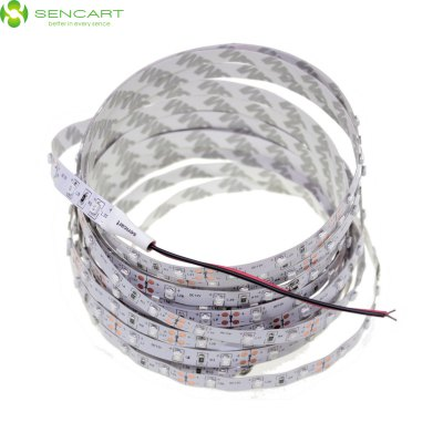 5 Meters x 60 SMD - 2835 LEDs 1500LM Cuttable Adhesive Blue LED Light Strip ( 30W DC 12V )LED Strips<br>5 Meters x 60 SMD - 2835 LEDs 1500LM Cuttable Adhesive Blue LED Light Strip ( 30W DC 12V )<br><br>Brand: Sencart<br>Type: LED Strip<br>Features: Cuttable,Low Power Consumption<br>Length: 5<br>Chip Brand: Epistar<br>Number of LEDs: 300<br>Theoretical Lumens: 1800LM<br>Actual Lumens: 1500LM<br>Optional Light Color: Blue,Green,Pink,Red,RGB,Warm White,White,Yellow<br>Connector type: Wired<br>Input Voltage: DC12<br>Material: FPC<br>Product weight: 0.020 kg<br>Package weight: 0.083 kg<br>Product size (L x W x H): 500.00 x 0.80 x 0.30 cm / 196.85 x 0.31 x 0.12 inches<br>Package size (L x W x H): 8.00 x 6.00 x 3.00 cm / 3.15 x 2.36 x 1.18 inches<br>Package Contents: 1 x LED Light Strip