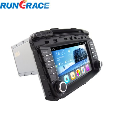 Гаджет   Rungrace RL-470AGNR In-Dash Car DVD Player 8 Inch 2-Din TFT Android 4.2.2 for Kia Sorento Support Steering Wheel Control