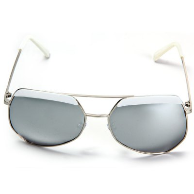 Гаджет   Ourspop OP  -  002 Outdoor Sports Silver Polarized Lens Silver Frame Sun Glasses for Women Stylish Sunglasses