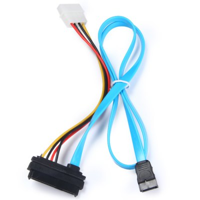 Гаджет   Practical 180 Degree SATA Power Cable 29Pin M / F Extension Cable Cables & Connectors